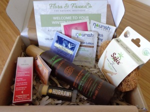 Flora & Fauna Winter Beauty Box 2015