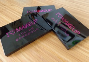 Makeup Revolution: I Heart Makeup - Theme Palettes