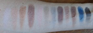 Pro 12 Romance and Jewels swatches