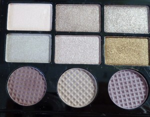 Makeup Revolution Salvation Palette: Girls on Film - left of palette