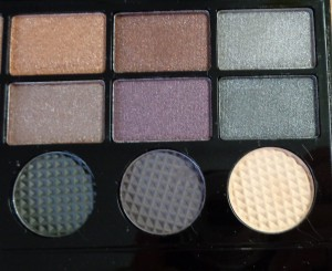 Makeup Revolution Salvation Palette: Girls on Film - right of palette
