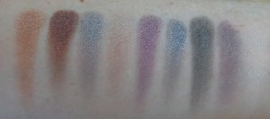 Swatches: take your picture, polaroid heaven, made a million, lipstick over the lens, smile wider, hold tight, so bright, she's falling and girls on film.