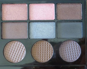 Makeup Revolution Salvation Palette: Girl Panic - right of palette