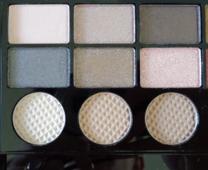 Makeup Revolution Salvation Palette: Run Boy Run - left of palette