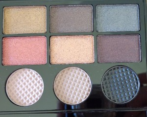Makeup Revolution Salvation Palette: Run Boy Run - right of palette