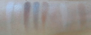 Swatches: trying to catch you, running is victory, sun will be guiding you, world is not meant for you, hide behind me, dying to stop you, follow me, head to the hills and run boy run.