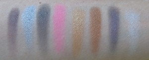 Swatches: Bad Habit, Slave, Bad Boys, Full Throttle, Golden Gun, Greed is Good, Self Indulgent and Do it For Me.