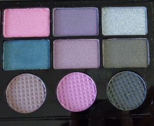 Makeup Revolution Salvation Palette: Unicorns Unite - right of palette