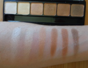 Naked swatches