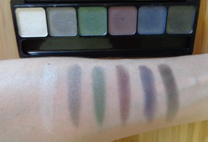 Smoke swatches