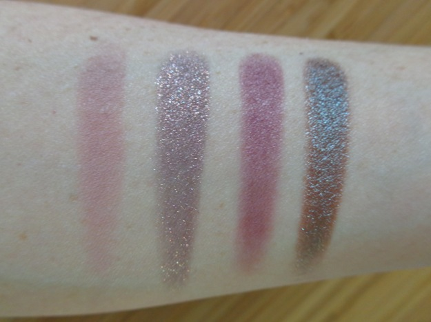 Swatches of Bill, Cricket, Hustle, Partridge.