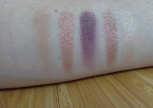 Stunning Smokes: Left of palette  swatches
