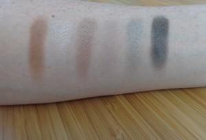 Stunning Smokes: Right of palette  swatches