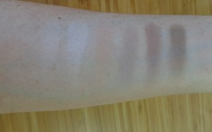 Audacious Mattes: left of palette swatches