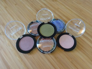 Freedom Makeup London Mono eyeshadows