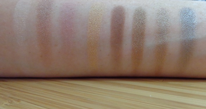 Left of Palette swatches: top to bottom, left to right.