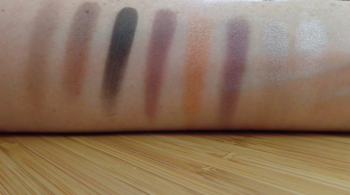 Right of Palette swatches: top to bottom, left to right.