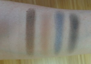 Bronzed and Blue Third Swatches (top to bottom, left to right): Dollar Bill, Desired, Stripped all Day, H.O.T., Bare 2