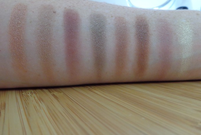 Right of Palette swatches: left to right, top to bottom.