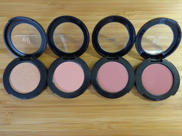 Baked Peach, Sweet Retreat, Jet Setter, Wanderlust