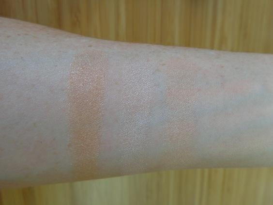 Swatches: Glow, Exhale, Breathe