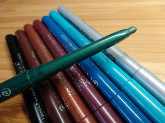 Essence long lasting eye pencils - mechanical liners.