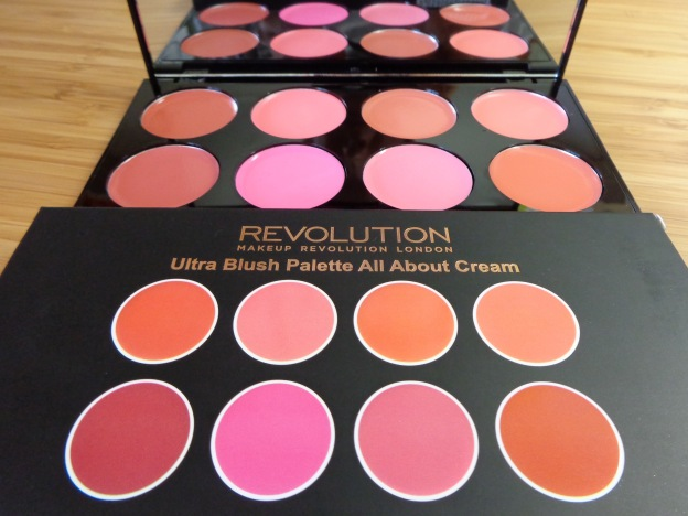 Makeup Revolution Ultra Blush Palette All About Cream Megan S